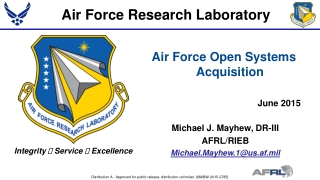 USAF Contracted Services Acquisition