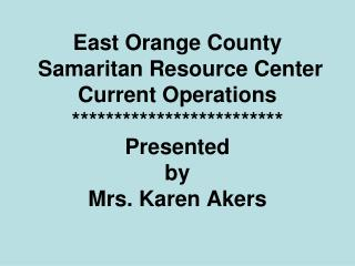 2012-03-20 Public Comment Karen Akers Samaritan Resource Center