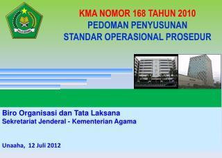 Biro  Organisasi dan  Tata  Laksana Sekretariat Jenderal  -  Kementerian  Agama