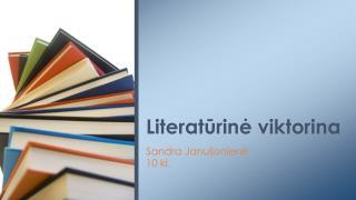 Literatūrinė viktorina