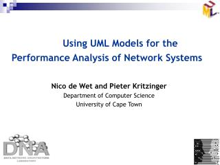 Using UML Models for the Performance Analysis of Network Systems