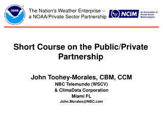 Short Course on the Public