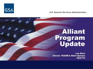 Alliant Program Update