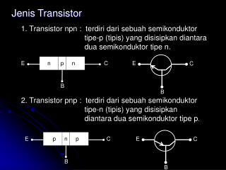 Jenis  Transistor
