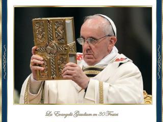 Estos son las 30 principales ideas que ofrece el Santo Padre en la  Evangelii Gaudium :