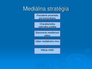 Mediálna stratégia