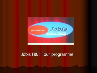 Jobis H&T Tour programme