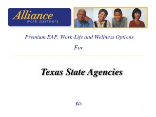 Premium EAP, Work-Life and Wellness Options
