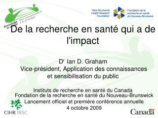 Fondation de la recherche en santé du Nouveau-Brunswick