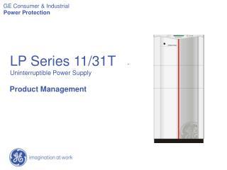 LP Series 11/31T    -  Uninterruptible Power Supply