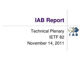 IAB Report