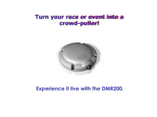 Turn your race or event into a crowd-puller!