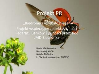 Projekt PR