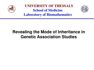 Revealing the Mode of Inheritance in Genetic Association Studies