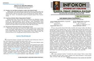 Edisi :  XLV/ 17 Feb 2013