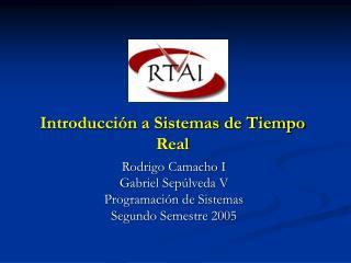 Introducción a Sistemas de Tiempo Real