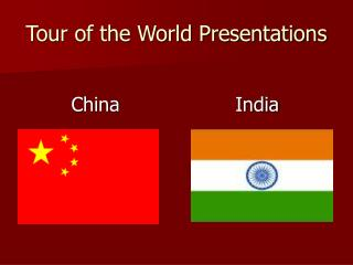 Tour of the World Presentations