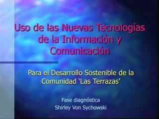 Uso de las Nuevas Tecnolog as de la Informaci n y Comunicaci n