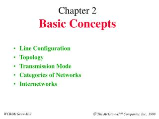 Chapter 2 Basic Concepts