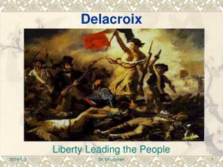 La libert  guidant le peuple de Delacroix