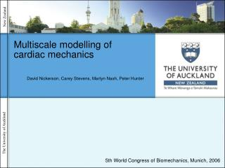Multiscale modelling of cardiac mechanics