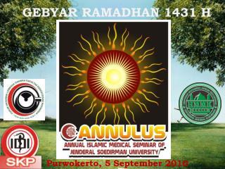 GEBYAR RAMADHAN 1431 H