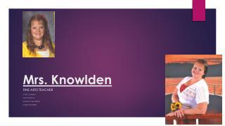 Mrs. Knowlden
