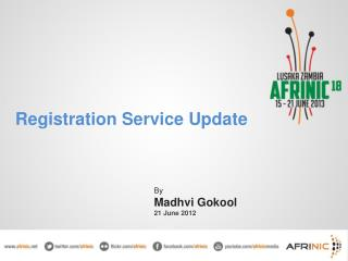 Registration Service Update