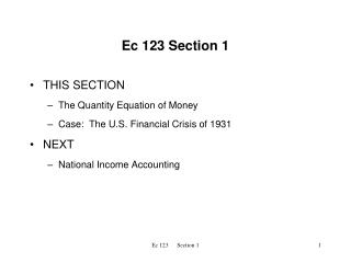 Ec 123 Section 1