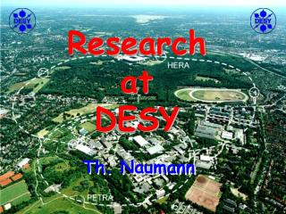 Research at DESY