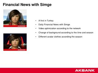 Financial News with Simge