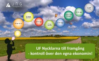 UF  Nycklarna till framgång -  kontroll över den egna ekonomin!
