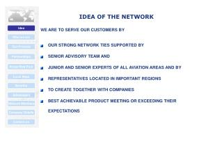 IDEA OF THE NETWORK