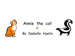 Annie  the  cat
