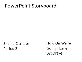 PowerPoint Storyboard