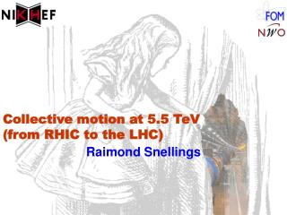 Collective motion at 5.5 TeV (from RHIC to the LHC)