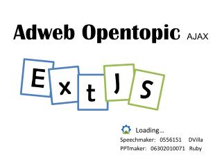 Adweb Opentopic  AJAX