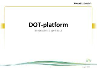 DOT-platform