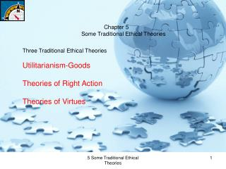 Chapter 5 Some Traditional Ethical Theories