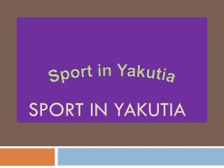 Sport in  Yakutia