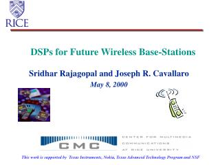 DSPs for Future Wireless Base-Stations