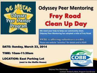 Odyssey Peer Mentoring