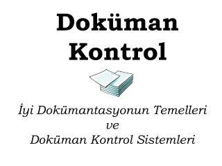 Doküman Kontrol