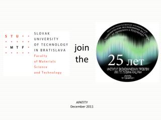 join the  APATITY December 2011
