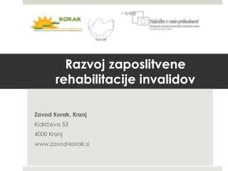 Razvoj zaposlitvene rehabilitacije invalidov