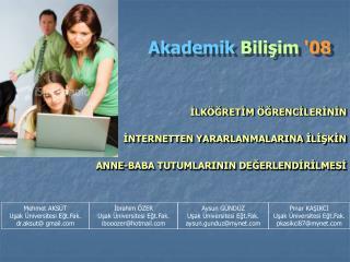 Akademik Bilişim ' 08