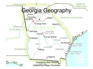 Georgia Geography