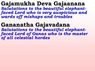 20_Ver06_Gajamukha Deva Gajaanana
