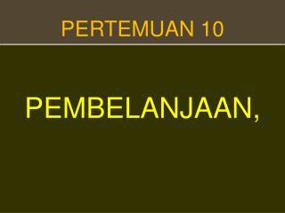 PERTEMUAN 1 0
