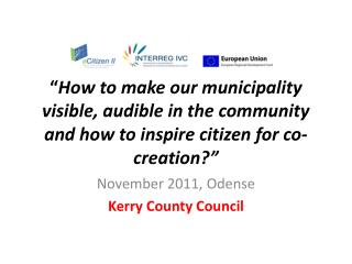 November 2011, Odense Kerry County Council